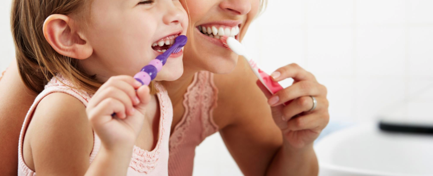 Sometimes brushing can damage your teeth
